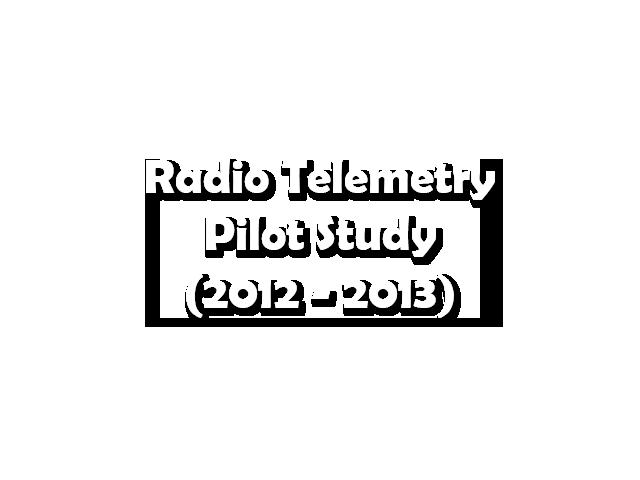 Radio Telemetry Pilot Study
